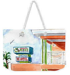Oasis Weekender Tote Bag by Clara Sue Beym