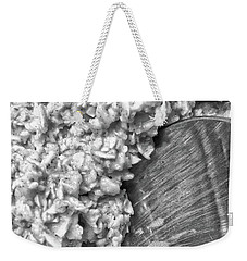 Weekender Tote Bag featuring the photograph Oatmeal by Robert Knight