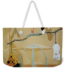 Objects Of Opposite Fit Weekender Tote Bag