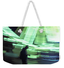 Weekender Tote Bag featuring the photograph Oblivion by Alex Lapidus