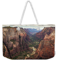 Observation Point - Zion Weekender Tote Bag