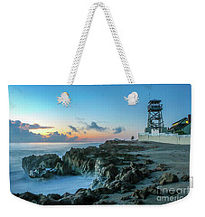 Observation Tower At Dawn Weekender Tote Bag