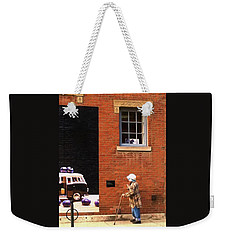 Observing Building Art Weekender Tote Bag
