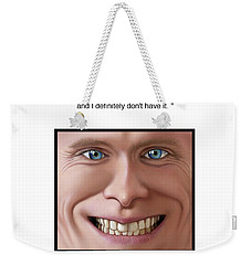 OCD Weekender Tote Bag by Scott Ross