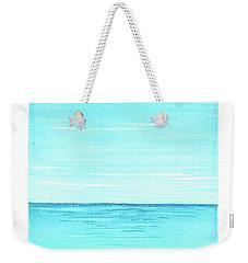Ocean 1 Weekender Tote Bag