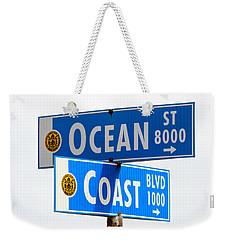 Ocean And Coast Weekender Tote Bag