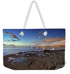 Ocean Beach Pier At Sunset, San Diego, California Weekender Tote Bag