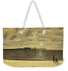 Ocean Beach Pier Sunset 01 Weekender Tote Bag