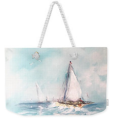 Ocean Blues Weekender Tote Bag
