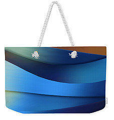 Weekender Tote Bag featuring the photograph Ocean Breeze by Paul Wear