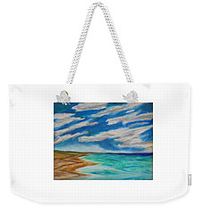 Ocean Clouds Weekender Tote Bag
