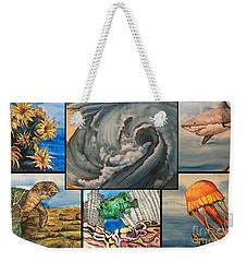 Ocean Collage #1 Weekender Tote Bag