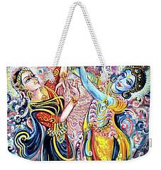 Ocean Dance Weekender Tote Bag by Harsh Malik