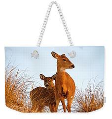 Ocean Deer Weekender Tote Bag by  Newwwman