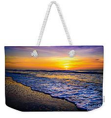 Ocean Drive Sunrise Weekender Tote Bag