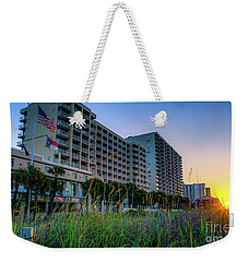 Ocean Drive Sunrise North Myrtle Beach Weekender Tote Bag