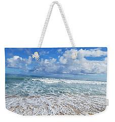 Ocean Foam Weekender Tote Bag