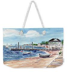 Ocean Gate Boardwalk Weekender Tote Bag