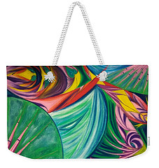 Ocean Graffiti Weekender Tote Bag