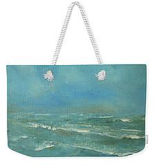 Ocean Green Weekender Tote Bag by Jane See
