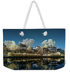 Ocean Grove Nj Weekender Tote Bag by Paul Seymour