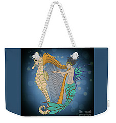 Weekender Tote Bag featuring the digital art Ocean Lullaby3 by Megan Dirsa-DuBois