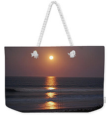 Ocean Moon In Pastels Weekender Tote Bag