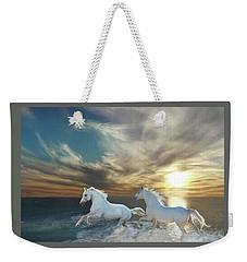 Ocean Play Weekender Tote Bag