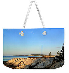 Weekender Tote Bag featuring the photograph Ocean Point by Lois Lepisto