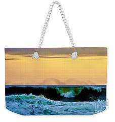Ocean Power Weekender Tote Bag