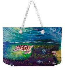 Ocean Reef Beach Weekender Tote Bag