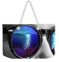 Ocean Reflection Weekender Tote Bag