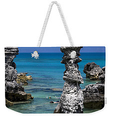 Ocean Rock Formations Weekender Tote Bag