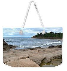 Ocean Rocks - Nova Scotia Weekender Tote Bag