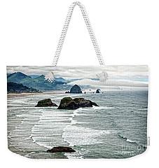 Ocean Rocks Off The Oregon Coast Weekender Tote Bag