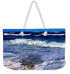 Ocean Scene In Abstract 14 Weekender Tote Bag