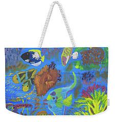 Ocean Snowglobe Weekender Tote Bag by Meryl Goudey