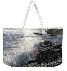 Ocean Splash Weekender Tote Bag