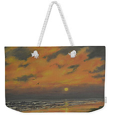 Ocean Sundown Weekender Tote Bag by Kathleen McDermott