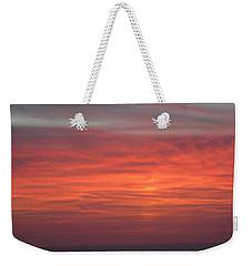 Ocean Sunrise Weekender Tote Bag by Kathy Long