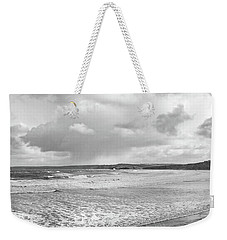 Weekender Tote Bag featuring the photograph Ocean Texture Study by Nicholas Burningham