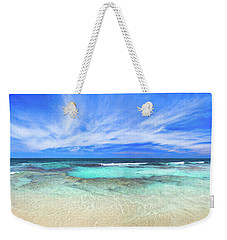 Weekender Tote Bag featuring the photograph Ocean Tranquility, Yanchep by Dave Catley
