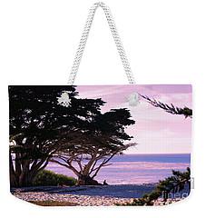 Ocean Views From Carmel Beach  Weekender Tote Bag