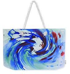 Ocean Wave Watercolor Weekender Tote Bag