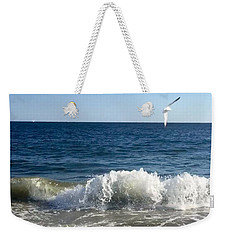 Ocean Waves Weekender Tote Bag