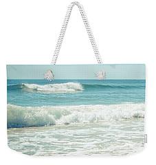 Ocean Waves Weekender Tote Bag by Colleen Kammerer