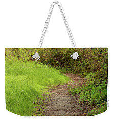 Weekender Tote Bag featuring the photograph Oceano Lagoon Trail by Art Block Collections