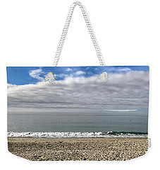 Weekender Tote Bag featuring the photograph Ocean's Edge by Kim Nelson