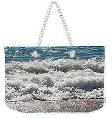 Weekender Tote Bag featuring the photograph Oceans Layers by Colleen Coccia