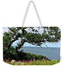 Oceanside Floral Blessings 2 Weekender Tote Bag